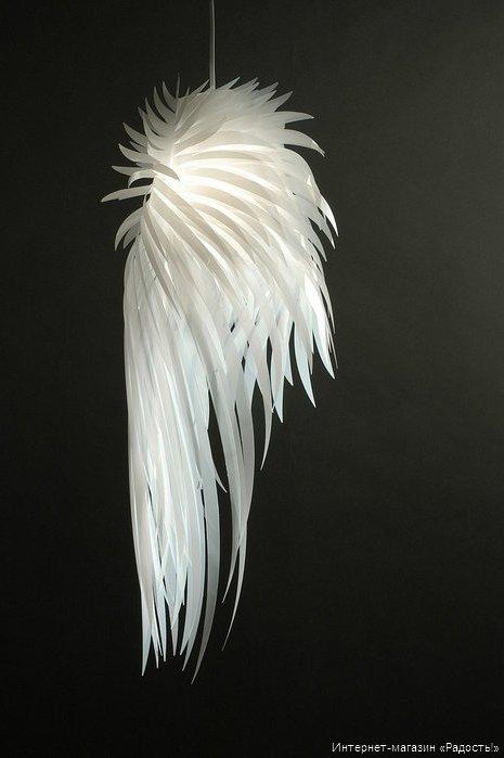 Подвесной фонарик-абажур из бумаги Жар-птица