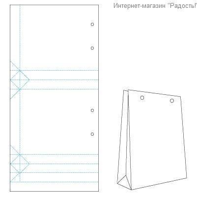 Схема для крафт пакетов