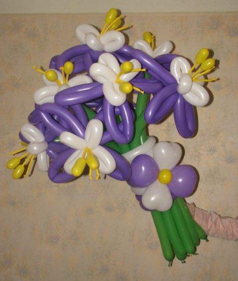 шары для моделирования: орхидеи