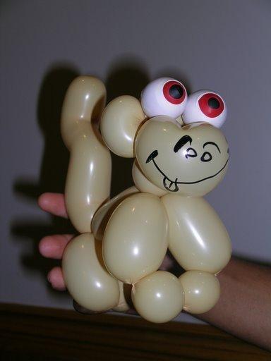 шары для моделирования: собачка