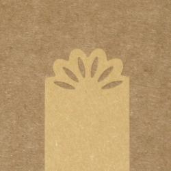 4.02. Фигурные бирки из крафт-бумаги*