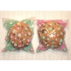 5.200. Подарочные целлофановые пакеты с цветами (10х11 см)