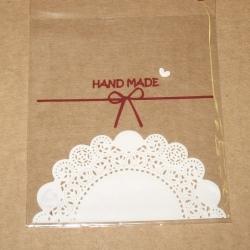 """5.202. Пакетик прозрачный """"Handmade"""""""