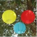 Подвесные китайские фонарики (40 см)