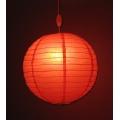 """2.50: Подвесной светильник """"Китайский фонарик"""""""