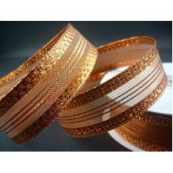 5.344: Декоративная металлизированная лента (25 мм)