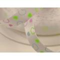 5.322: Набор лент: 3 узкие атласные ленты с сердечками (10 мм)