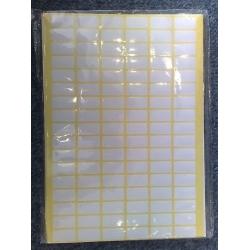 4.90: Бумажные стикеры-наклейки 18х28 (10 шт)
