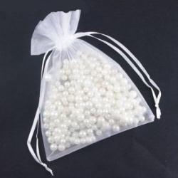 Белые подарочные мешочки (17х23 см)