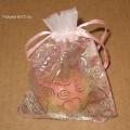 Подарочные мешочки с узором сердечки