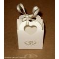 7.93: Белая картонная коробка-корзинка