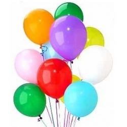 Разноцветный набор из 12 шариков