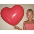 Воздушные шарики «Большое сердечко!»