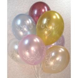 Воздушные шарики «Свадьба!» (7 шт)