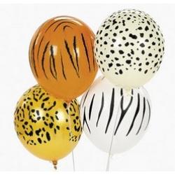 """Набор из 4 воздушных шаров """"Сафари"""""""
