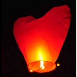 """Летающие фонарики """"Пылающее сердце"""""""