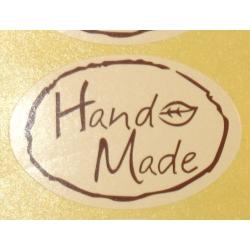"""4.73: Цветные стикеры """"Handmade"""""""