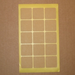 4.75: Стикеры из крафт-бумаги (10 шт)