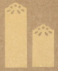 при необходимости крафт-бирки из крафт-картона можно укоротить ножницами