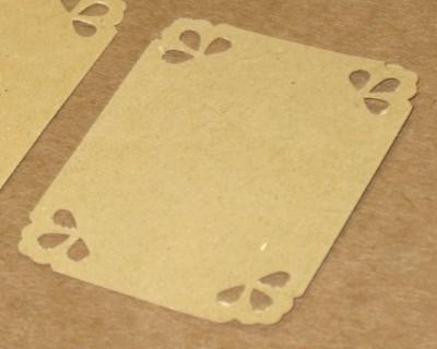 Картонные бирки-этикетки ручной работы