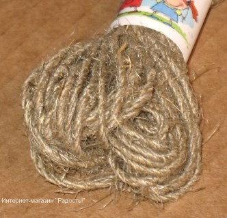 Льняной шпагат, упаковка 10 метров / верёвочки для бирок