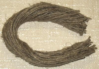 верёвочки для бирки из льняного шпагата, 51 шт по 30 см