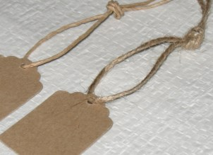 Верёвочки для бирок