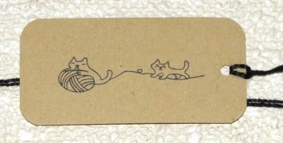 бирки для шитья из тонкого крафт-картона / интернет-магазин Радость