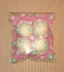 целлофановый пакет с цветами фото