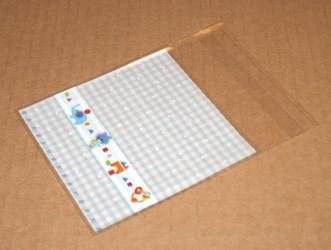 "фото: целлофановые пакетики ""Игрушки"" голубого цвета"