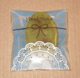 целлофановые пакеты handmade голубого тона, фото