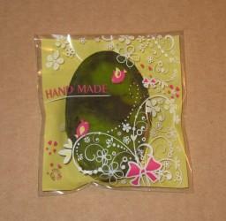 пример упаковки мыла ручной работы в целлофановые пакеты, фото: