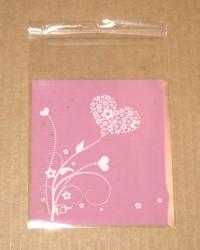 фото: внешний вид целлофановых пакетов розового цвета