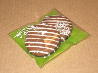 печенье упаковано в целлофановый пакет, фото