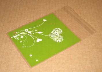 "зелёные пакетики из целлофана ""Весна"", фото"