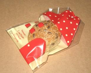 """упаковка для """"Домашнего хлебца"""" - целлофановый пакет """"Домик"""", фото"""