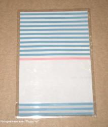 фото: открытые голубые пакеты из целлофана, (лот 10 шт)