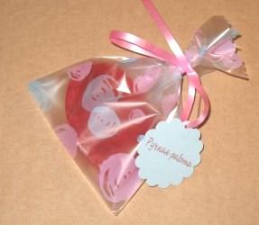красивая упаковка для мыла ручной работы из целлофана, фото: целлофановый пакет