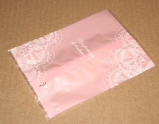 целлофановые пакеты, розовые, матовые, фото