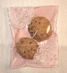 фото: целлофановые пакетики как упаковка для товара: хлебцы с кунжутом и семечками подсолнуха