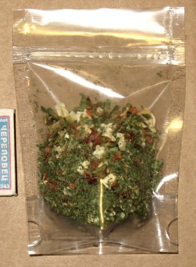 фото: в пакет ДОЙ-ПАК упакованы специи