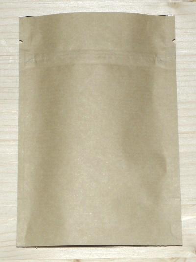 """непромокаемые пакеты """"ДОЙ-пак"""" из крафт-бумаги с зиплоком с фольгой и плёнкой"""