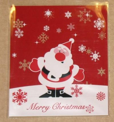 фото новогодний целлофановый пакет 2. Дед Мороз (1)