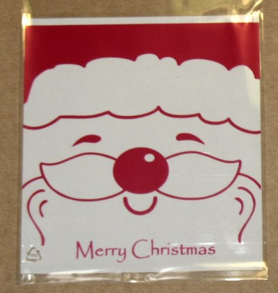фото 6. Дед Мороз (2) - новогодний целлофановый пакет