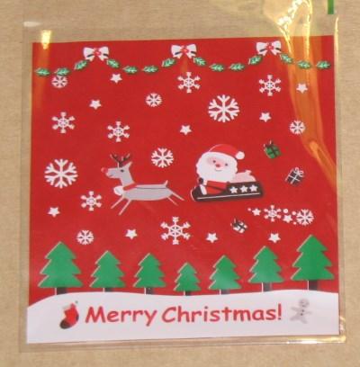 фото новогодний целлофановый пакет 9. Летающие сани