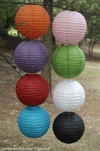 Как смотрятся наборы китайских бумажных фонариков?