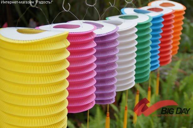 подвесные китайские фонарики