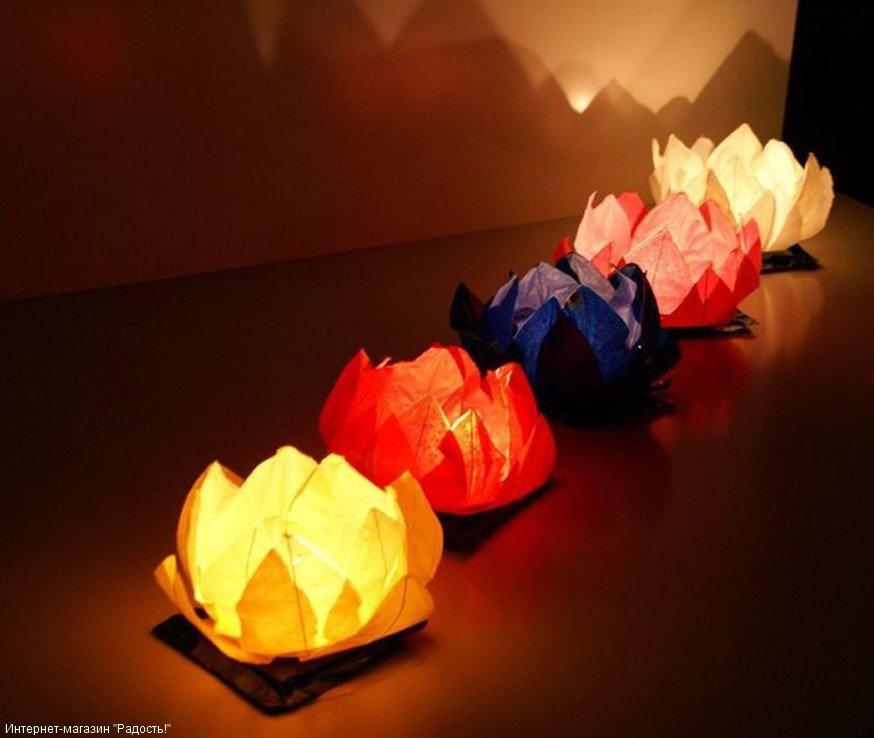 плавающие фонарики