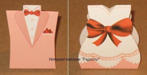 """Свадебная подарочная коробка """"Пастельные тона"""""""