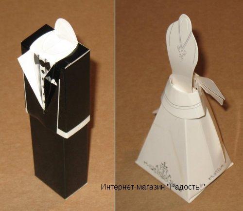 """свадебная подарочная коробка """"Визитница"""""""